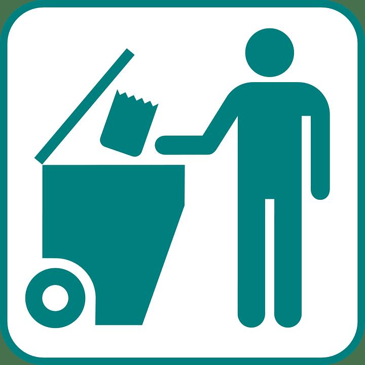 Naklejki na pojemniki do odpadów