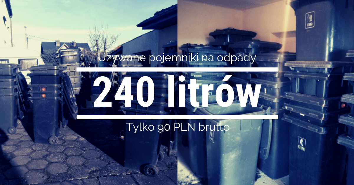 Wiemy, gdzie kupić pojemniki na odpady