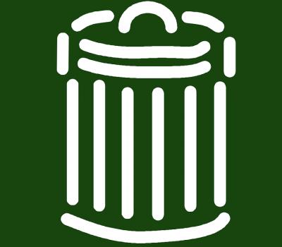 zielone pojemniki na odpady 400x350 - Przeznaczenie zielonych pojemników na odpady