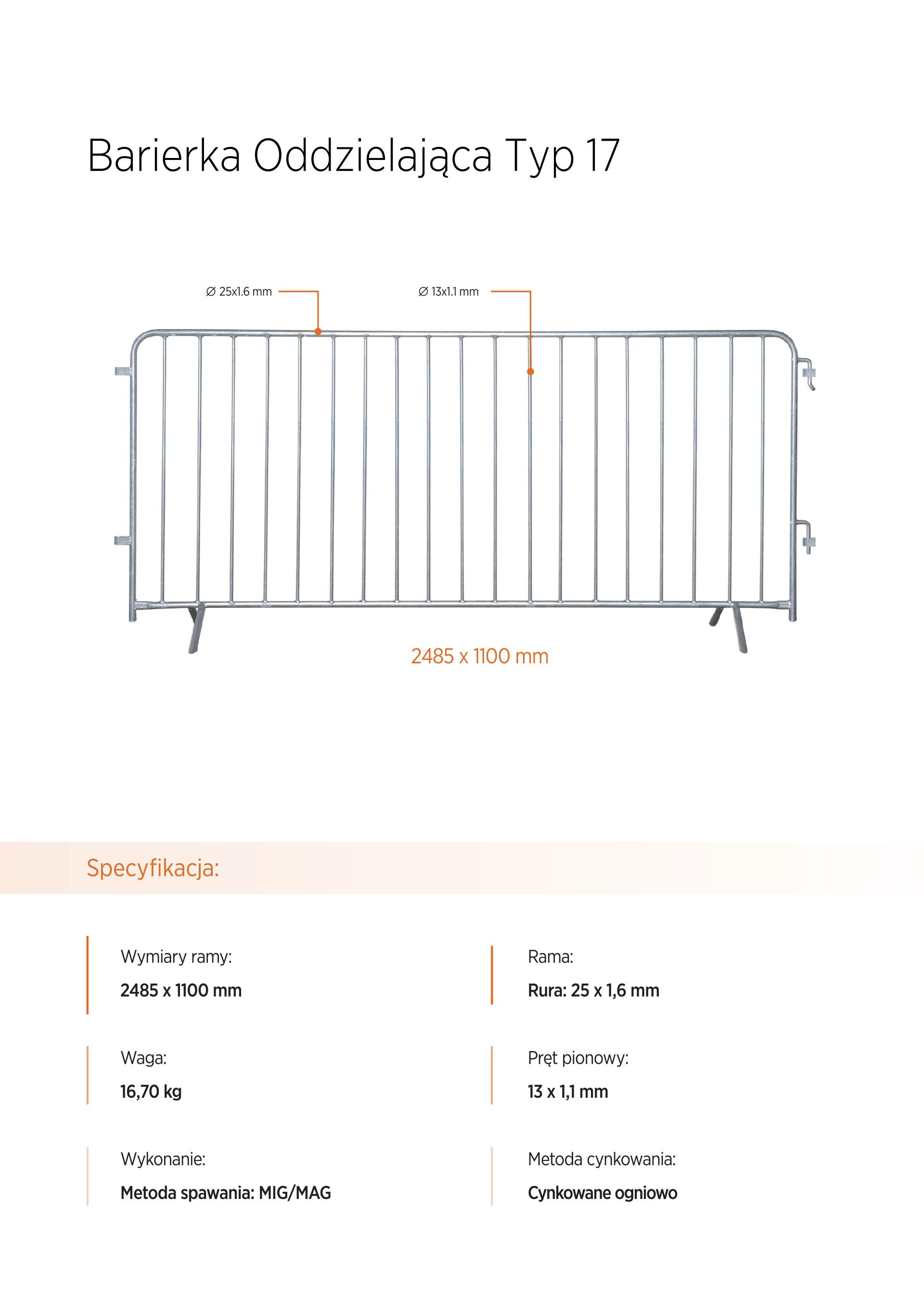 barierka eventowa - Ogrodzenia tymczasowe Chełm