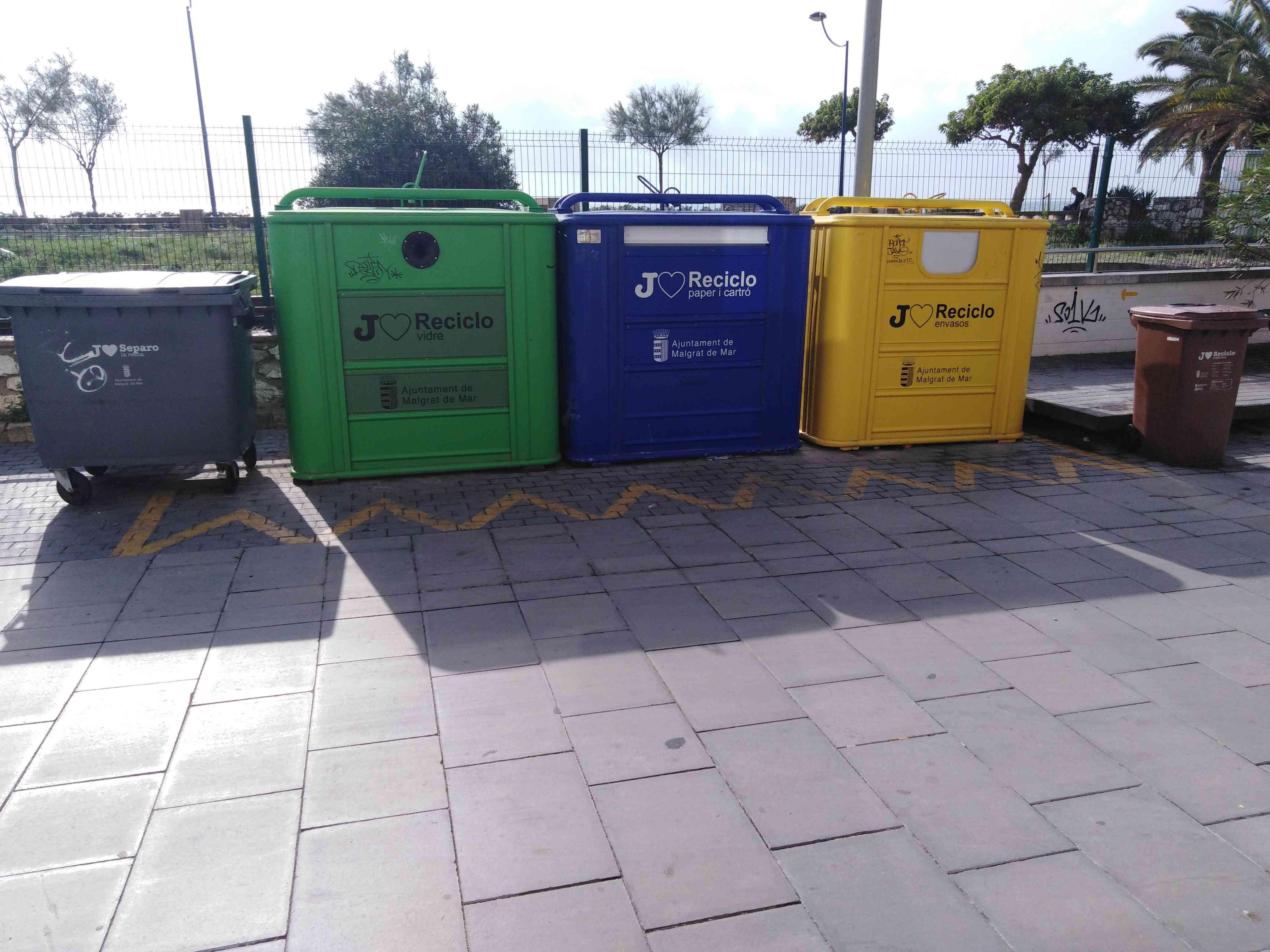 Zbiórka odpadów w Hiszpanii