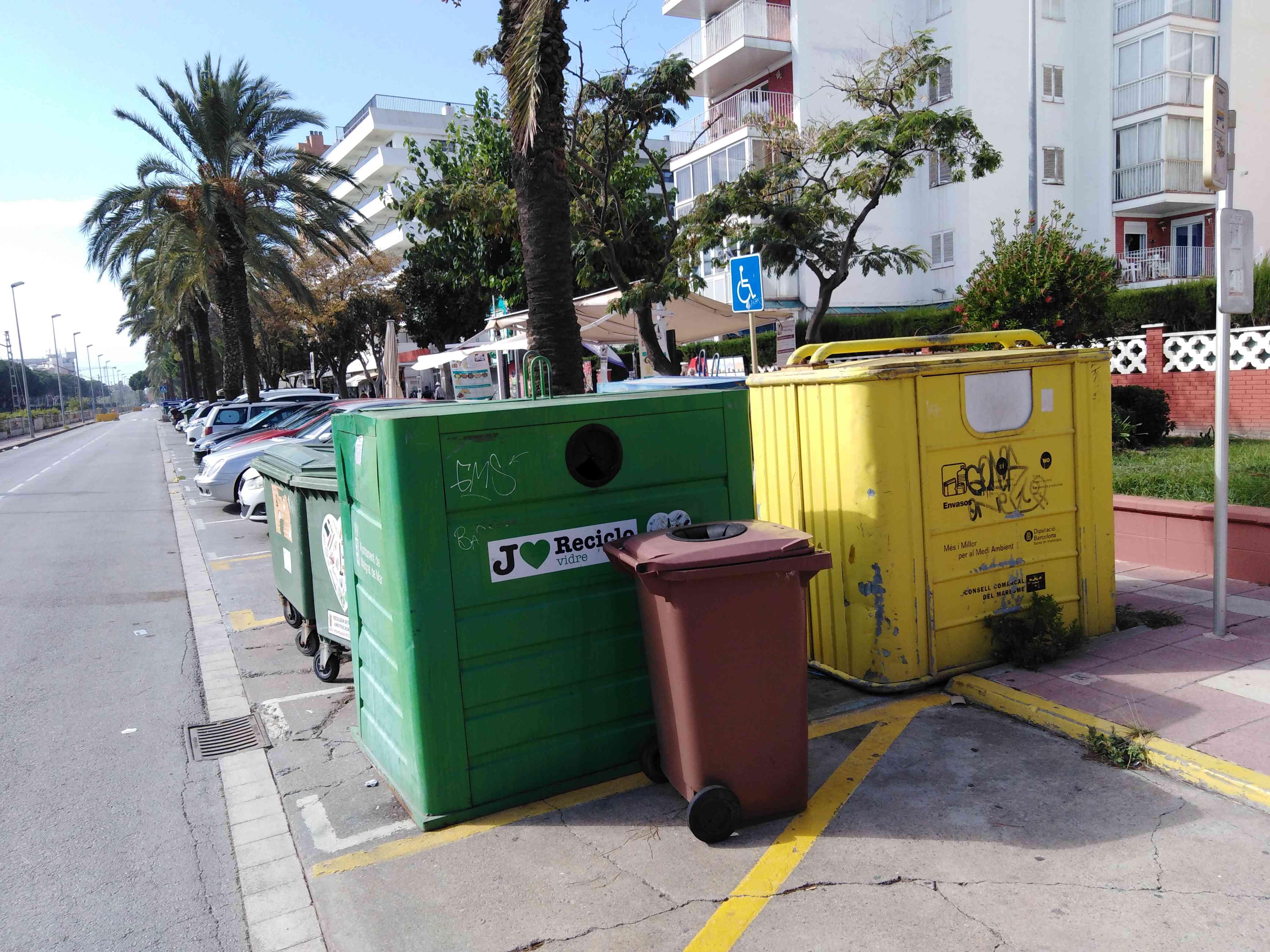 zbiorka odpadow katalonia - Zbiórka odpadów w Hiszpanii