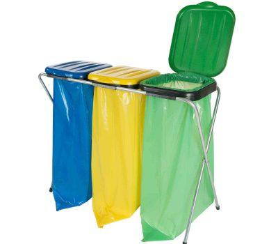 stojaki do selektywnej zbiorki odpadow 400x350 - Stojaki do selektywnej zbiórki odpadów