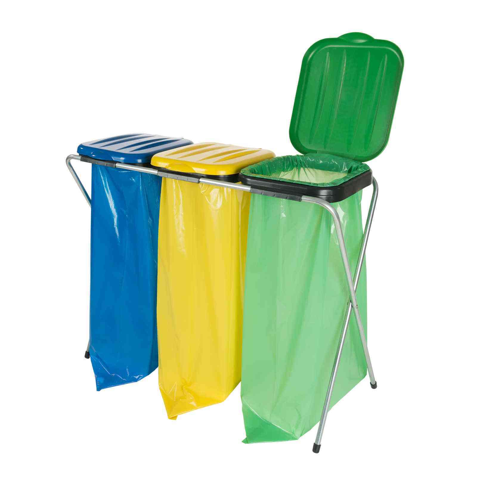 Stojaki do selektywnej zbiórki odpadów
