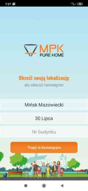 Aplikacja MPK Pure Home