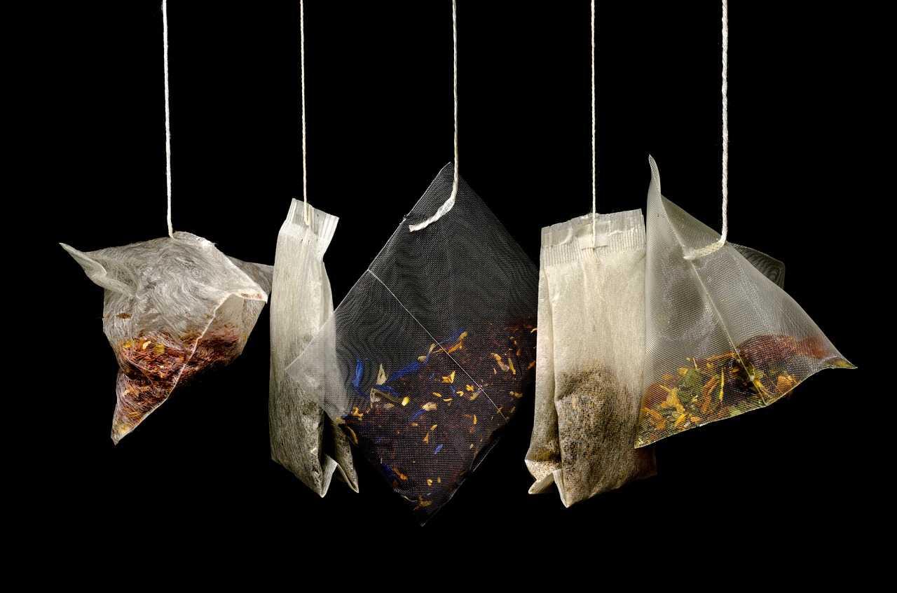Gdzie wyrzucać torebki po herbacie ?