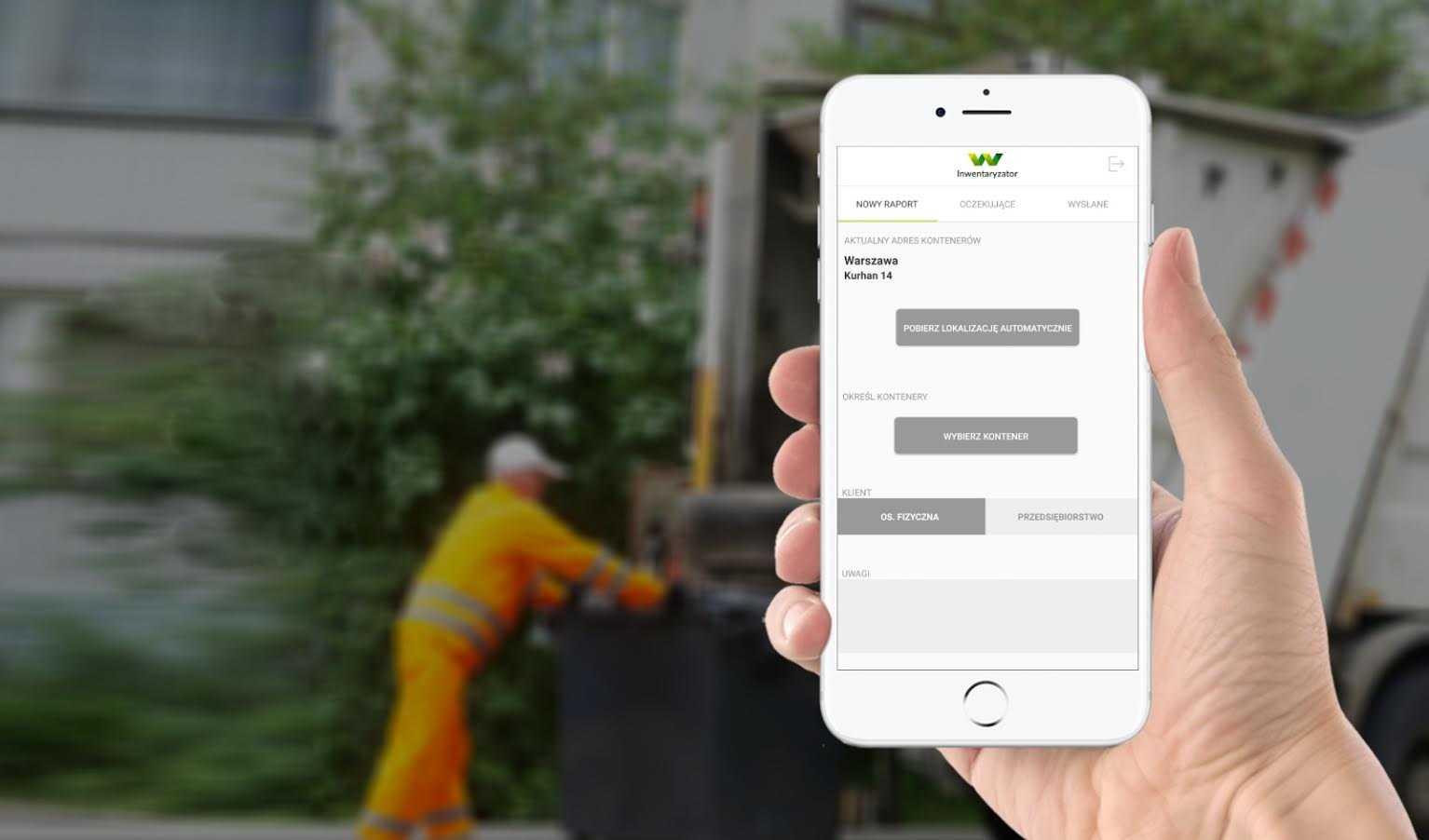 Aplikacja do oceny jakości segregacji - moduł Waste24