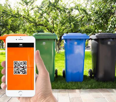 qr waste24 400x350 - Czy warto informatyzować wywóz odpadów ?